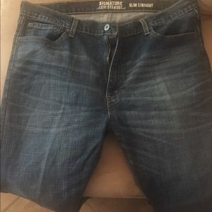 Levis Slim Straight Signature Jeans